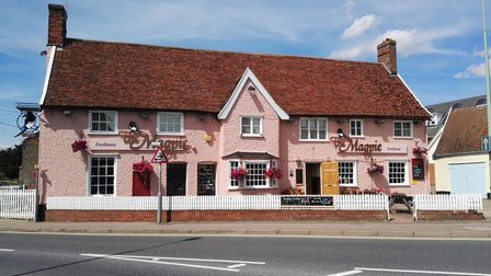 The Magpie in Combs Ford near Stowmarket