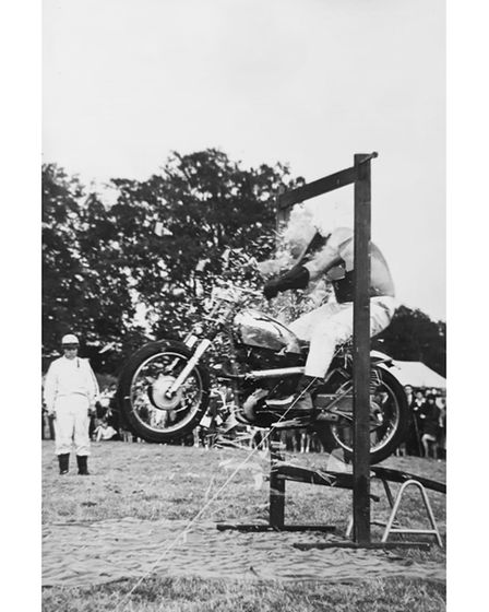 Action from Suffolk Cyclomaniacs in 1967