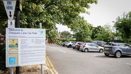Chequers Lane car park, Great Dunmow