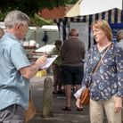 Lucy Meyers collects signatures from concerned residents in Great Dunmow