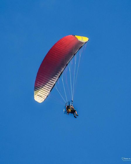 Seen over Ely on Saturday. Bet it is an amazing view from there.