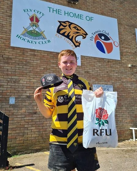 Ely Tigers Rugby Club under 12s team member Caiden Smith ran130km