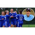 Ipswich Town co-owner Brett Johnson (inset) is ready to back the club's women's side. Photo: Archant