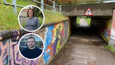 Terry Jermy and Jane James, say their priorities include tackling neglected underpasses