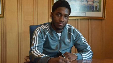 Ola Bello has signed his first professional contract with Ipswich Town. Photo: ITFC