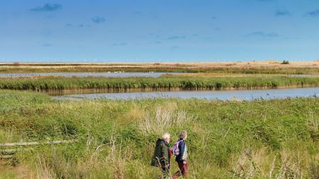Norfolk Wildlife Trust Cley Marshes. Picture: ANTONY KELLY