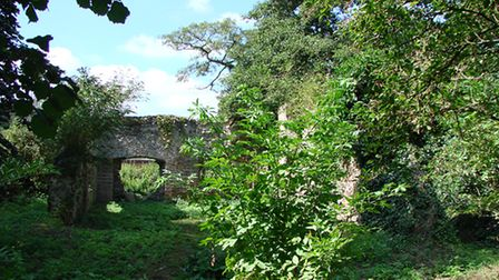 Whitlingham St Andrew's ruined church