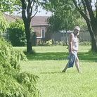 This man got undressed at a park in Sprowston. Do you recognise him?