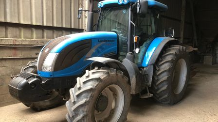 This Landini tractor is among more than 500 lots being auctioned at Park Farm in Heydon, near Aylsham