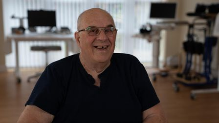 85-year-old Herbert Martin, from Littleport, came to Askham Rehab after sustaining a brain injury following a fall