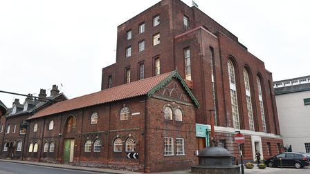 The Greene King brewery in Bury St Edmunds