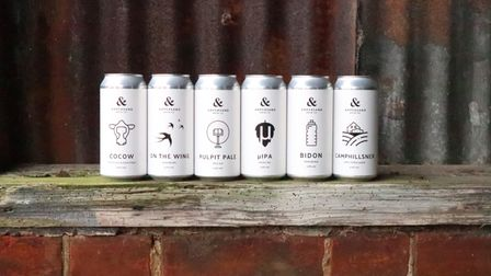 Ampersand Brew Co's beers