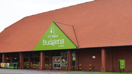 The old CT Baker Budgens of Holt before it was destroyed by a fire in June 2020. Picture: CT Baker G