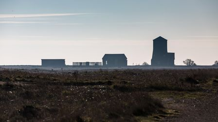 View of Black Beacon at Orford Ness National Nature Reserve Picture: NATIONAL TRUST/RICHARD SCOTT **
