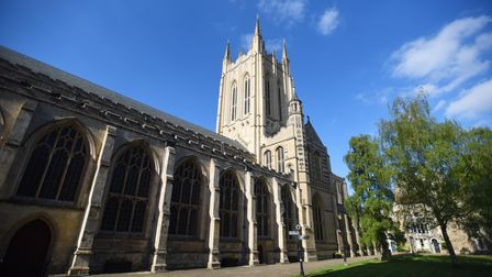 Bury St Edmunds cathedral