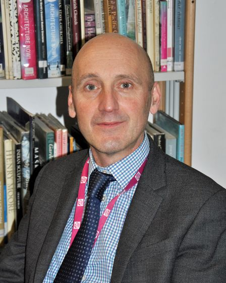 Stowupland High School headteacher Peter Whear, who said abuse should never be condoned