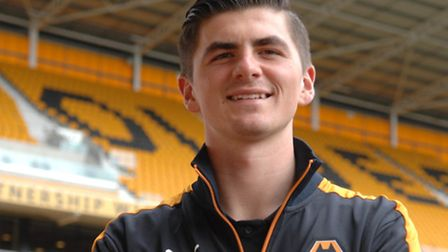 Wolves goalkeeper Harry Burgoyne has been recalled from his loan spell at Lowestoft Town. Picture: R