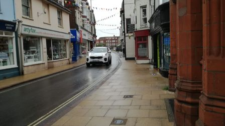 Cromer businesses have been having their say on a potential new Aldi in the town.