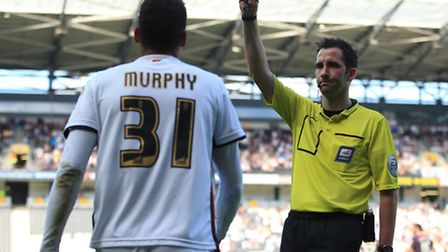 On-loan Norwich City midfielder Josh Murphy aims to put a forgettable display at Huddersfield behind