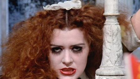 Pat Quinn as Magenta in the Rocky Horror Show