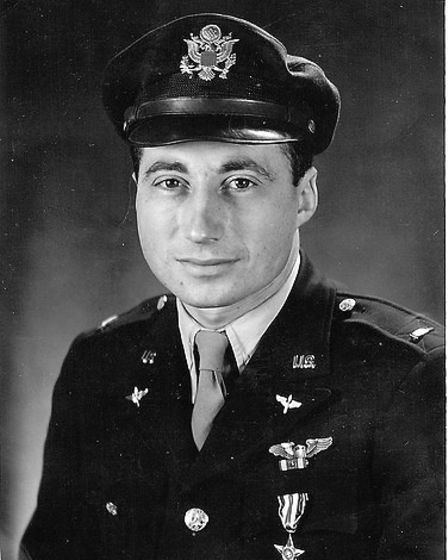"""U.S. Army Air Forces Lt. Col. Robert """"Rosie"""" Rosenthal was a legendary pilot who was assigned to the"""