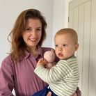 Kathryn and her son Ted.