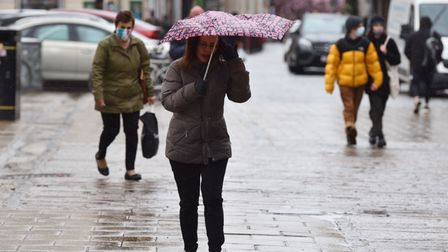 Rain and strong winds hit Norfolk after the May bank holiday Byline: Sonya Duncan