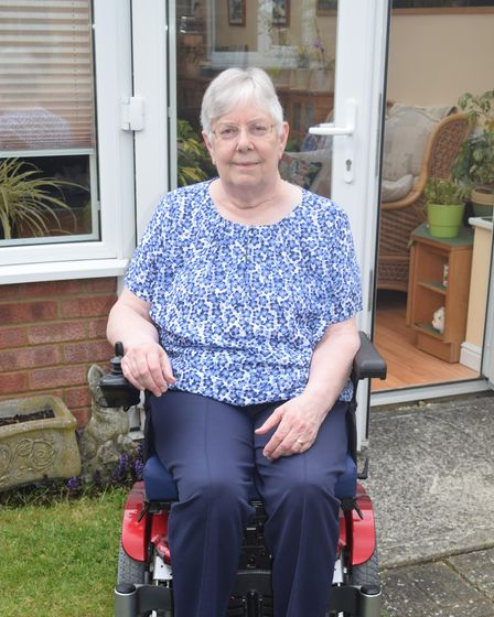 Linda Hoggarth is to receive the Suffolk Medal for her outstanding service to the county
