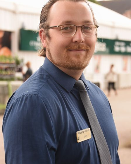 Budgens of Holt, one year on from the fire. Jack Sadler, duty manager. Picture: DENISE BRADLEY