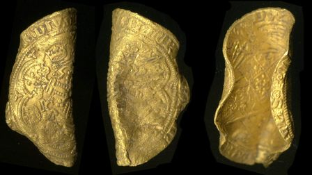 The gold noble of Edward III, fourth coinage, issued1351-2.