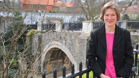 Dr Helen Geake used to work at the Castle before working in Cambridge and joining Time Team. Photo :