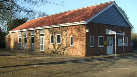 Brockley Village Hall after the building work was completed.