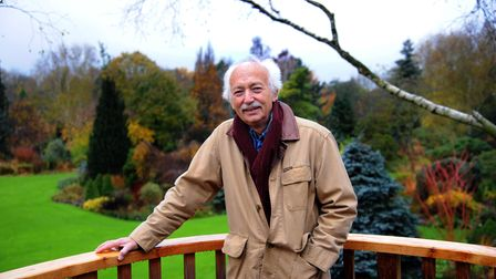 Adrian Bloom at home in Bressingham.