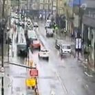 Latest snap Monday morning from TfL traffic camera showing Great Eastern Street north of ShoreditchHigh Street.