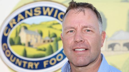 Adam Couch, chief executive of Cranswick Country Foods, Picture submitted.