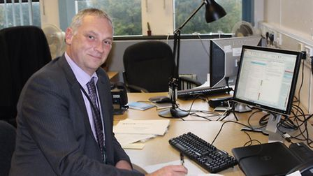 Michael Rosen, director of children's services at Norfolk County Council.