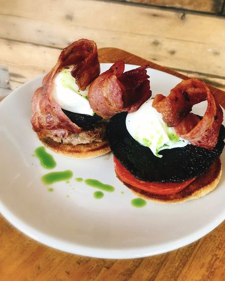 The Full Monty breakfast is a firm favourite at The Grazing Sheep in Ipswich