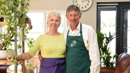 Deborah and Michael Russell of Willow Tree farm shop