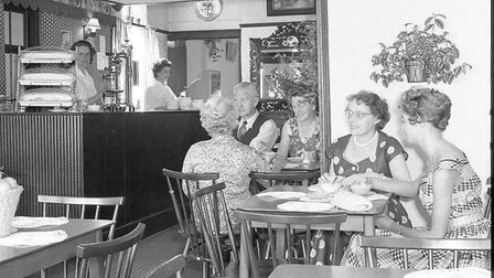 Ely Stagecoach cafe c1959
