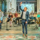 The 'Spirit of the Fens' concert took place at Ely Cathedral on Sunday June 20 as part of Ely Arts Festvial.