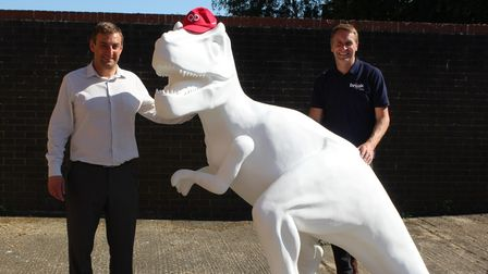 Karl Ottolangui, operations director for the QD Group (left), with Peter Marron, corporate fundraising manager at Break