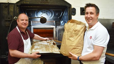 Suffolk Day is celebrated at Palmer's Bakery in Haughley