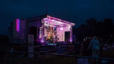 The Luminectric at Great Dunmow Summer Solstice Sundown festival
