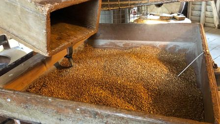 Wheat from Limagrain is turned into flour at Pakenham Water Mill