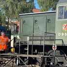 The railway's catering manager Marie Saville and her husband general manager George Saville