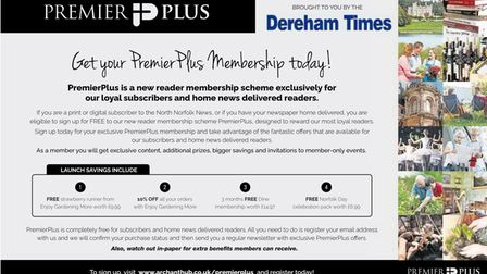 Join our PremierPlus membership scheme for freebies, discounts, exclusive content and invitations to events.