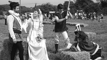 From The Archives EastElizabethan Fayre at Sweffling May 1981