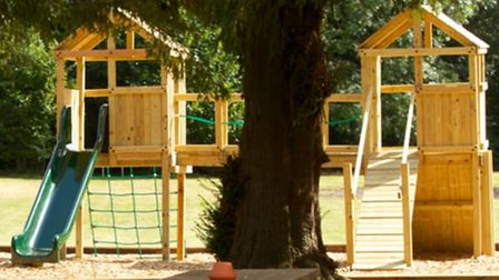 The Crown at Hartest has a great outdoor play area which is perfect for little children