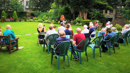 Wisbech Words is returning on July 15 at 7pm in Wisbech Castle Gardens.