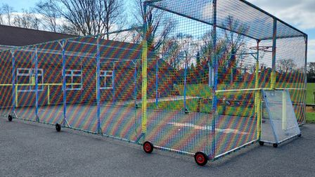 MUGA at Townley Primary School in Christchurch